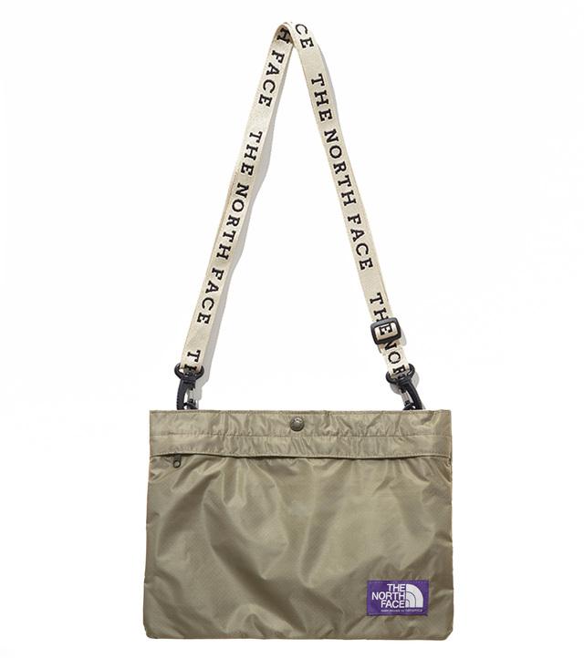 Lightweight Logo Tape Shoulder Bag