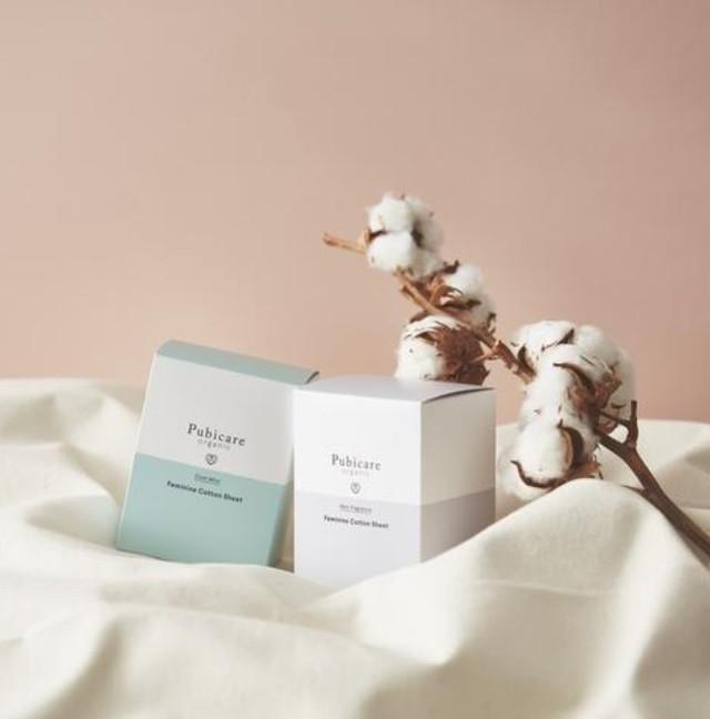 フェミニン コットンシート 全2種類の香り