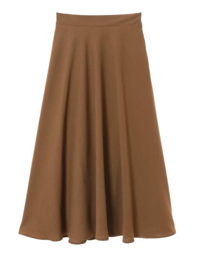 フレアロングマキシスカート