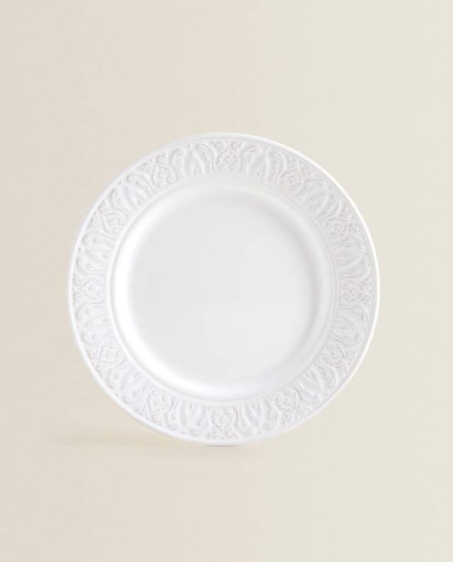 ホワイトレリーフ アースンウェアテーブルウェア