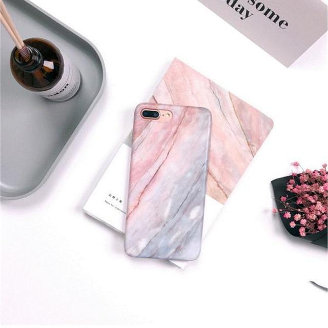 CORORiN|iPhoneケース マーブル大理石風デザイン 全2色
