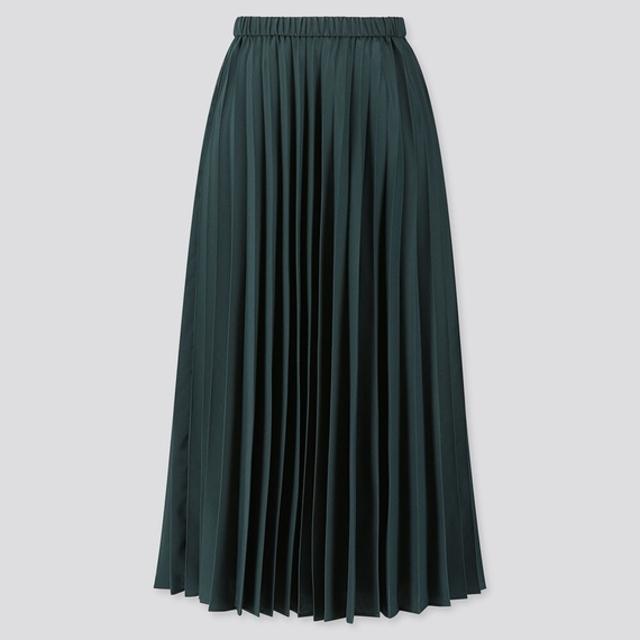 プリーツロングスカート(丈標準80~84cm)