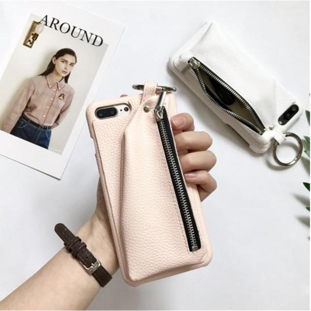 CORORiN|iPhoneケース バックチャックポケットデザイン 全3色
