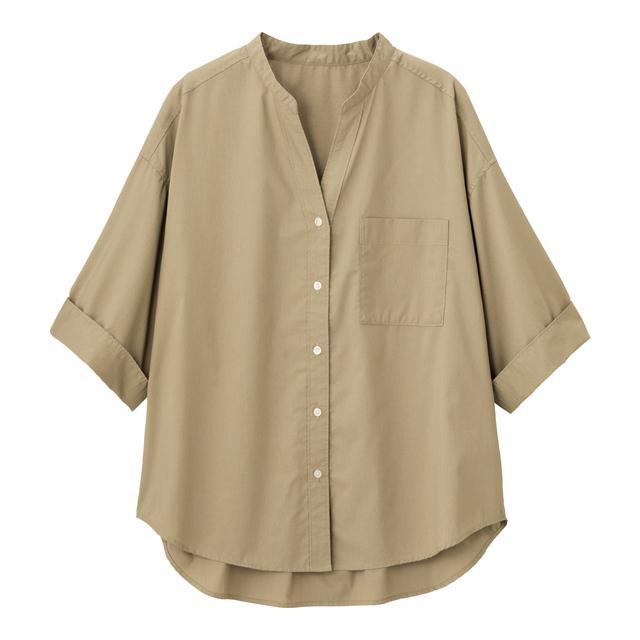 ワイドスリーブシャツ