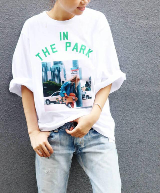 'IN THE PARK'半袖Tシャツ