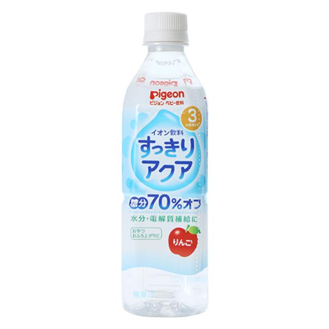 ペットボトル飲料 すっきりアクア りんご 500ml