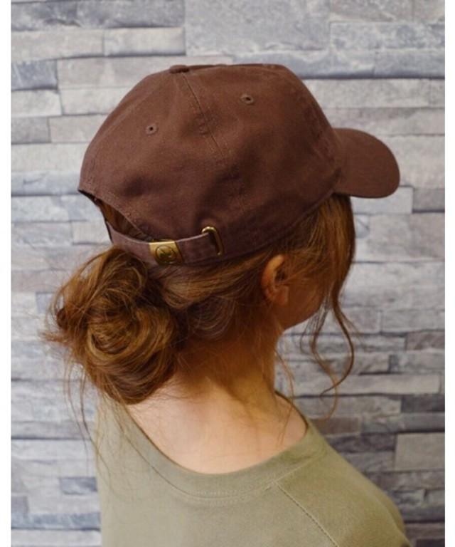 STONE WASHED TWILL CAP