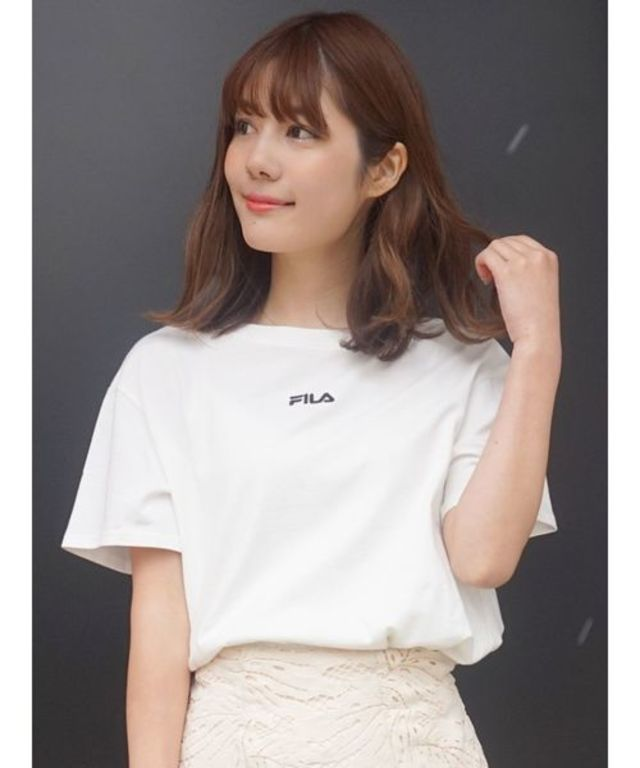 【FILA MERCURYDUO別注】チビ刺繍Tシャツ