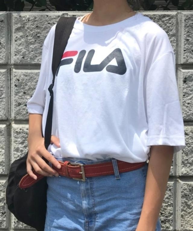 FILA×LookUp 別注ビッグシルエットTシャツ