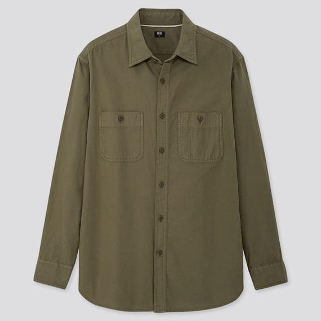 ウォッシュワークシャツ(メンズ)