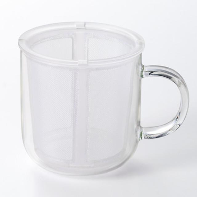 耐熱ガラス マグカップ