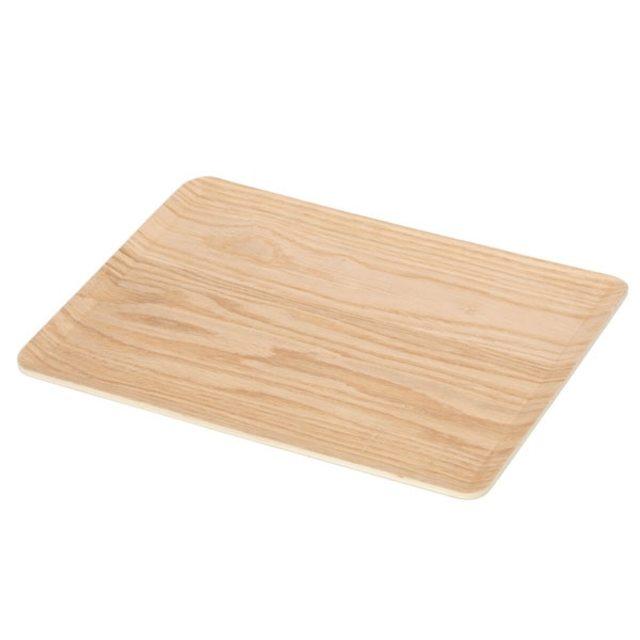 滑り止め加工 木製トレーS ヤナギ