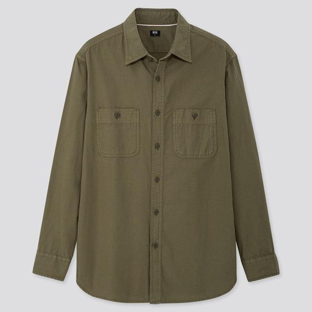 ウォッシュワークシャツ(長袖)