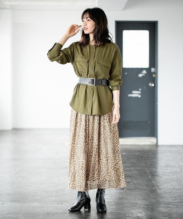 ビンテージシアーマキシスカート