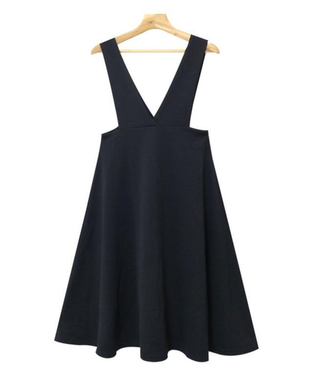 ミモレ丈ジャンパースカート