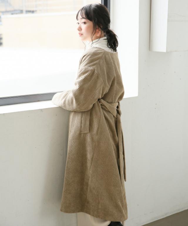 カルコーデュロイ/コート