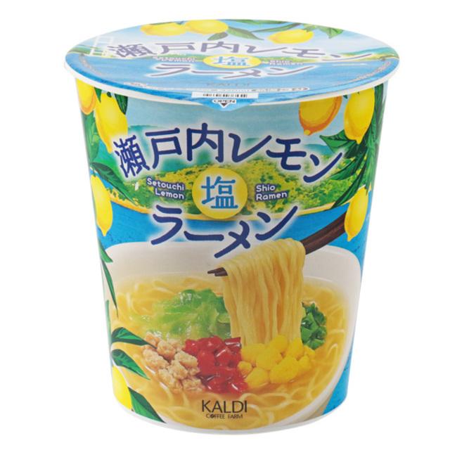 カルディオリジナル 瀬戸内レモン塩ラーメン 65g