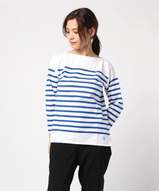 【ORCIVAL】ラッセル フレンチセーラーTシャツ WOMEN