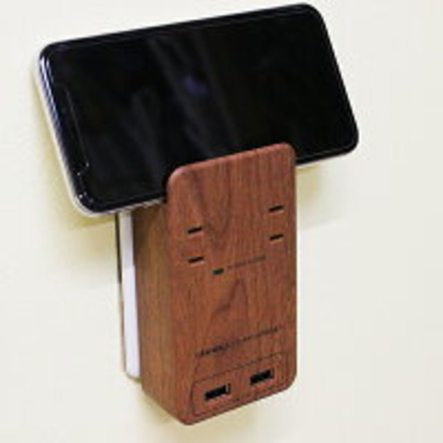 TAPKING USB WALLスマホスタンド付き