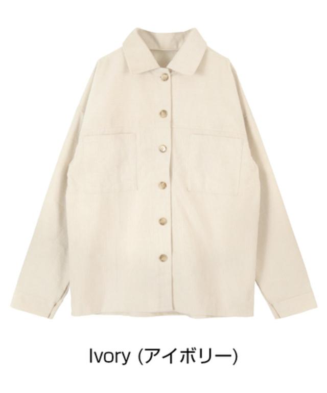 ウエストマークコーデュロイライトジャケット