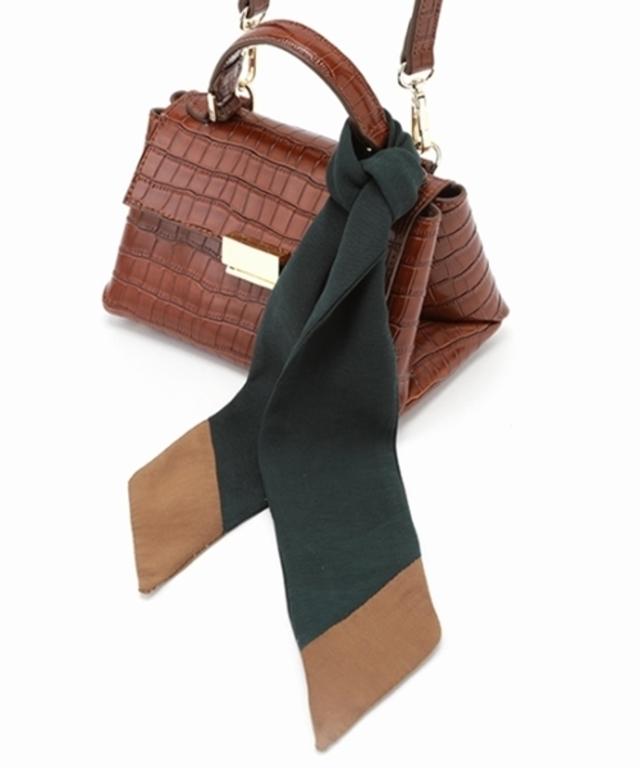 スカーフ付マイクロミニバッグ