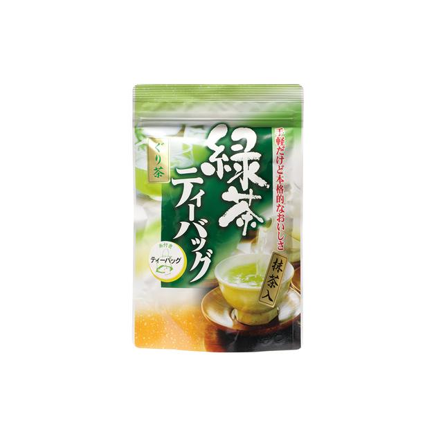 抹茶入ぐり茶糸付ティーバッグ 2g×20P