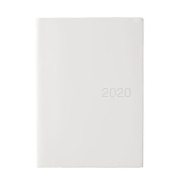 上質紙マンスリーウィークリーノート・2019年12月始まり B5・ホワイトグレー
