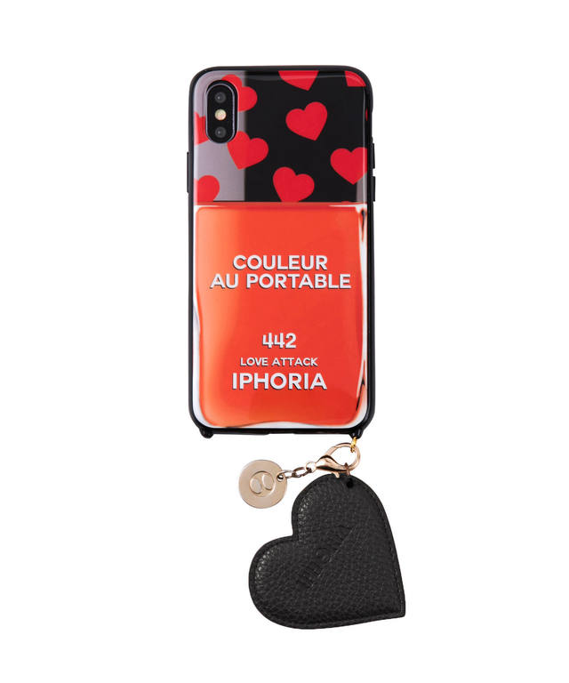 Revival Case for Apple iPhone X/XS - Couleur au Portable Love Attack Jewelry Mold