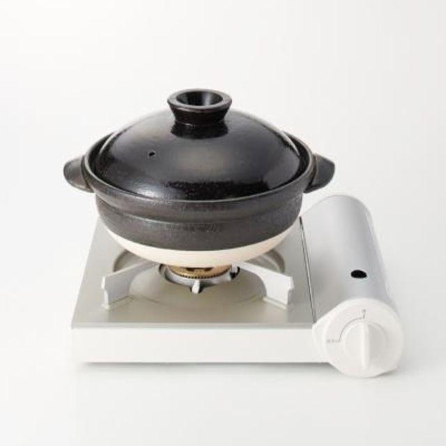 土鍋 黒釉・2~3人用・約1600ml