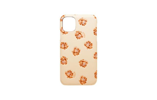 [auショップ限定]iPhone 11用 COACH(R)ハードケース/PEONY Pink