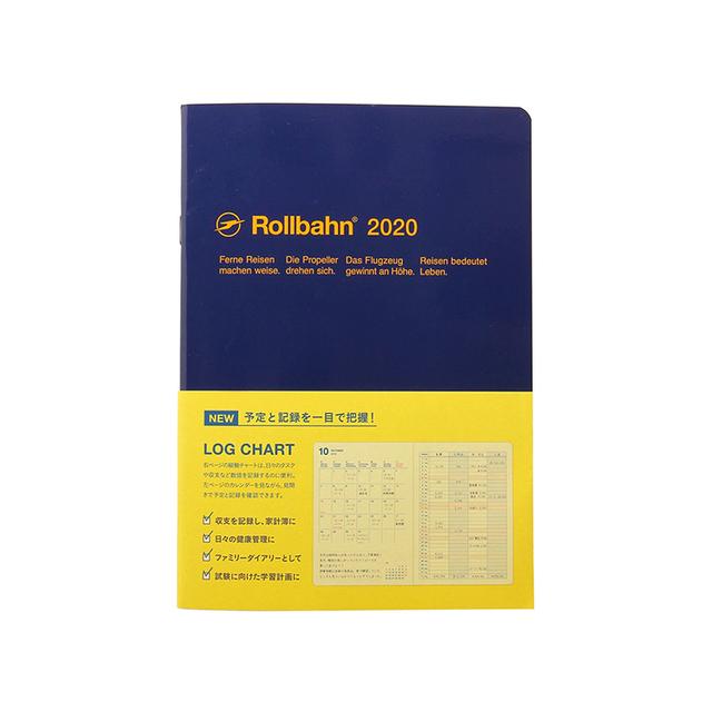 手帳 2020/ロルバーンノートダイアリー ログチャートA5