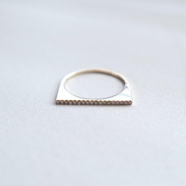 K10ダイヤモンドバーリング