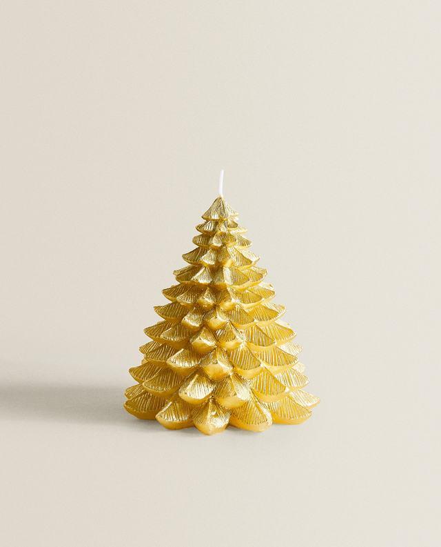 クリスマスツリー キャンドル