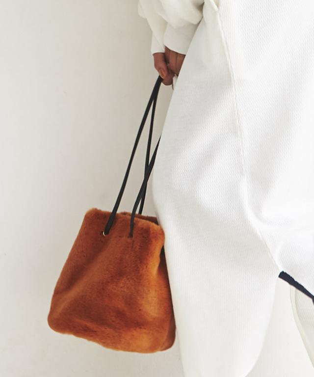 エコファー 巾着 BAG