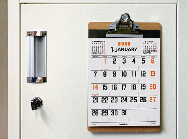 ペンコ カレンダー O/S A5
