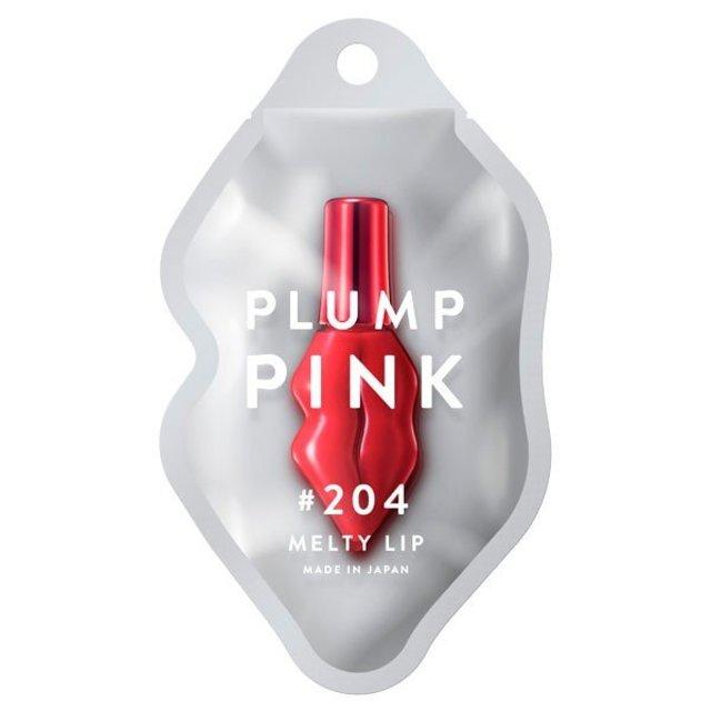プランプピンク メルティーリップセラム / 204 トリックレッド