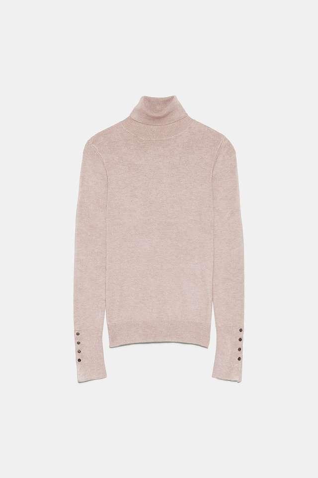 ベーシックハイネックセーター