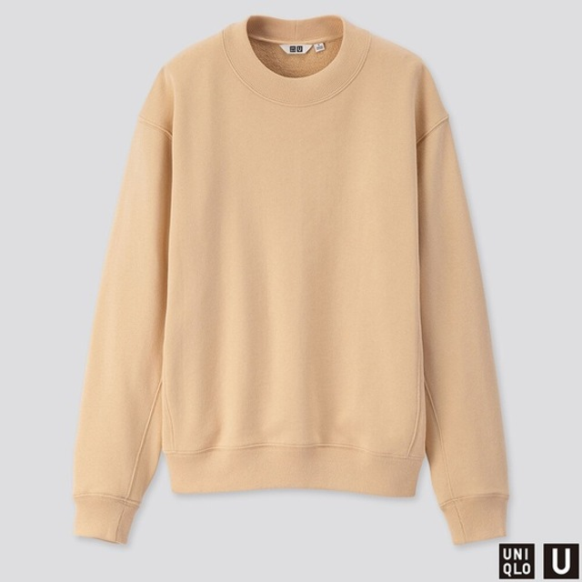 スウェットクルーネックシャツ