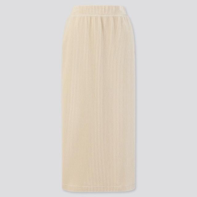 コーデュロイロングナロースカート
