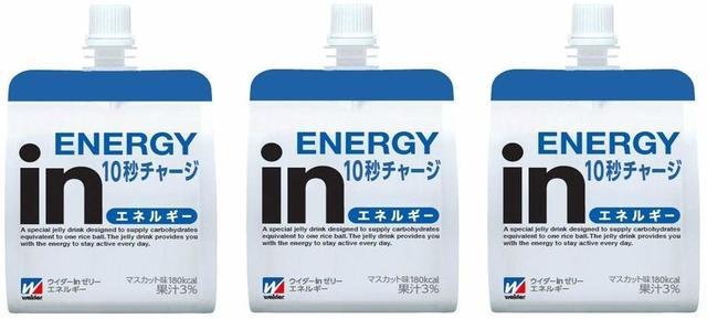 ウイダーinゼリーエネルギーイン(180g × 3個)