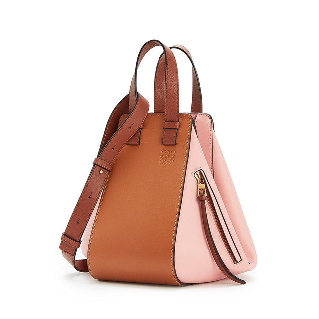 Hammock Small Bag Tan/Medium Pink