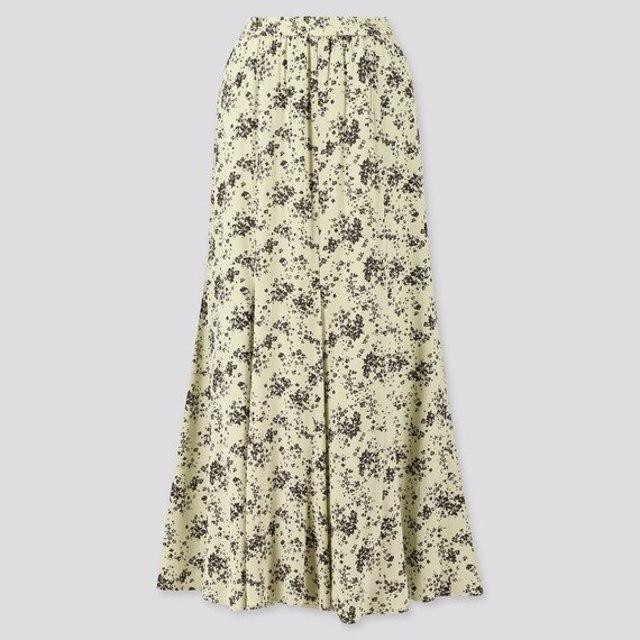 プリントマーメイドロングスカート(丈標準82~87cm)