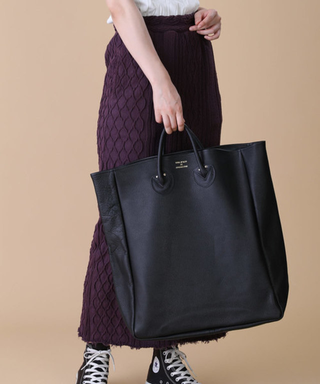 EMBOSSED LEATHER TOTE L/エンボスレザートート(Lサイズ)