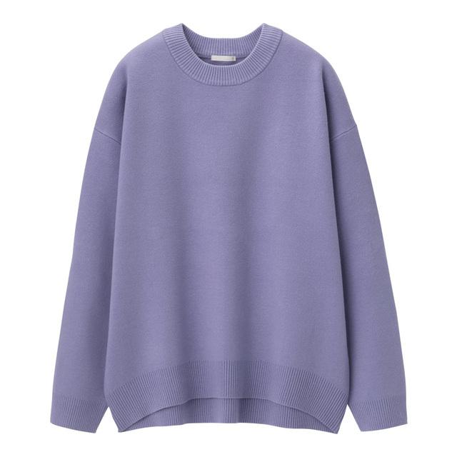 スウェットライクオーバーサイズセーター