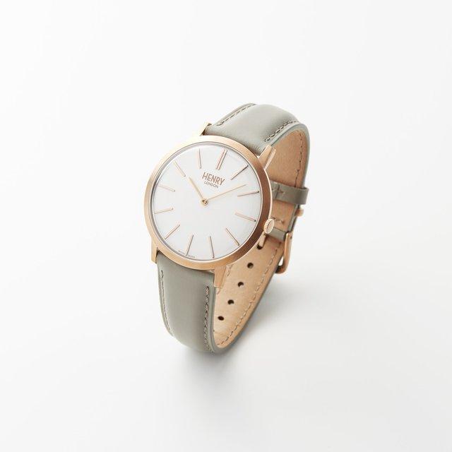男女ともに上品セクシーになれる腕時計♡ローズゴールド Iconic