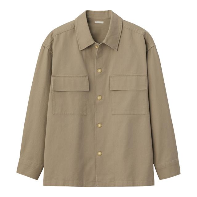 ヘビーツイルシャツアウター(長袖)