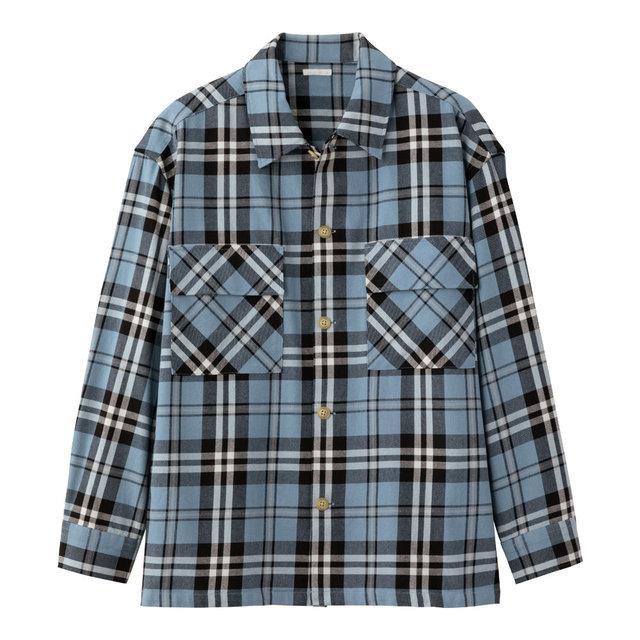 ヘビーツイルシャツアウター(長袖)(チェック)