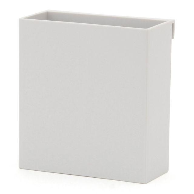 ポリプロピレンファイルボックス用・ポケット 約幅90×奥行40×高さ100mm