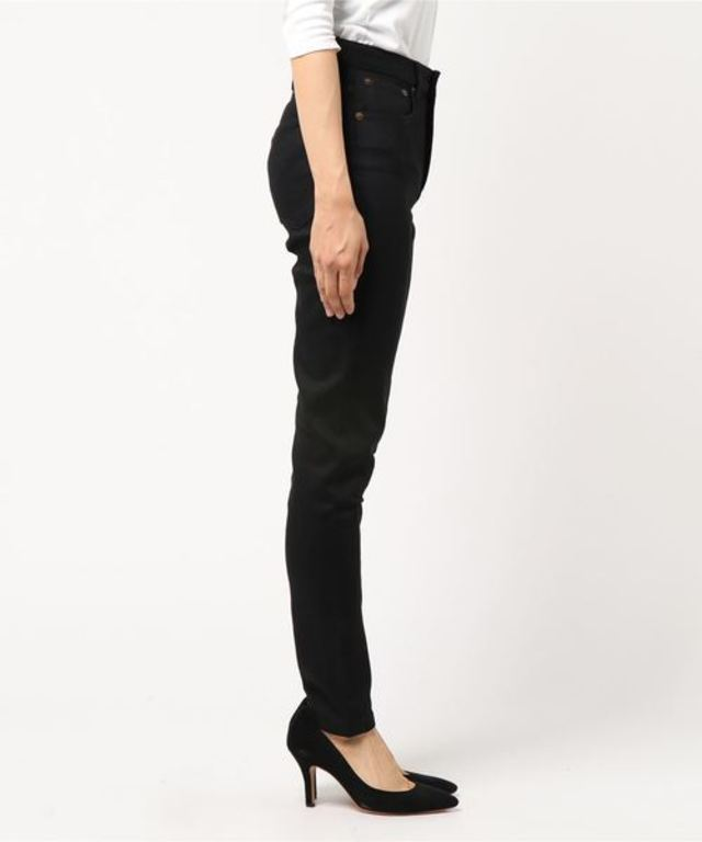 JEAN HIGH STANDARD DENIM STRETCH /NOIR
