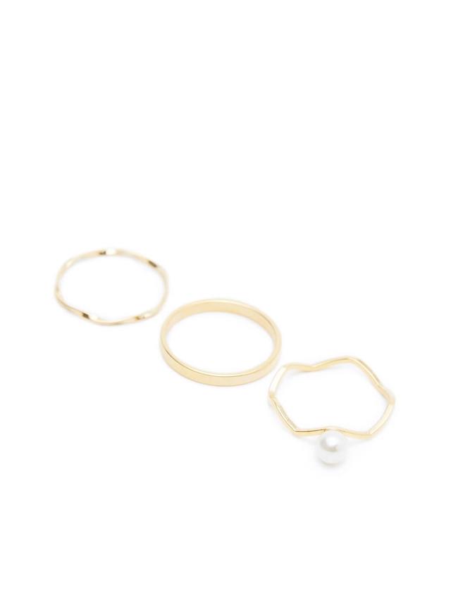 treasure pearl set ring